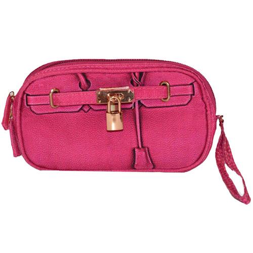 Scarlet Poop Pick Up Wristlet   Pink