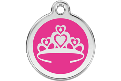 Enamel Crown ID Tag   10 Colors