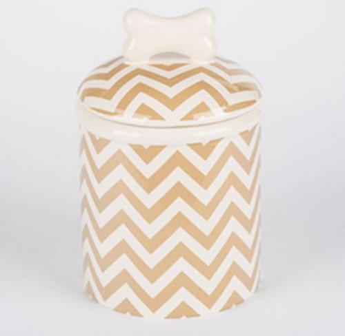 Chevron Treat Jar