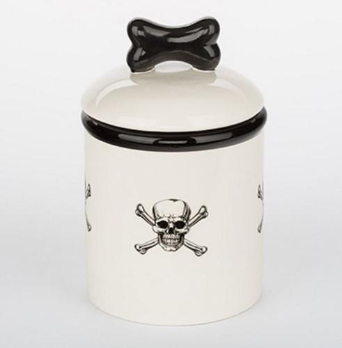 Skull & Crossbones Treat Jar