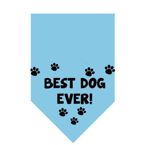 Best Dog Ever Pet Bandana | Blue