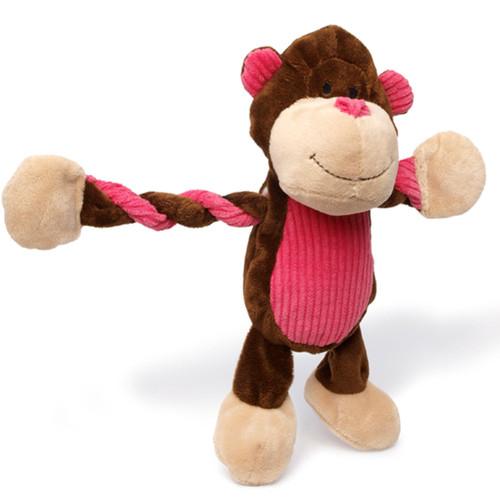 Pulleez Dog Toy  | Monkey