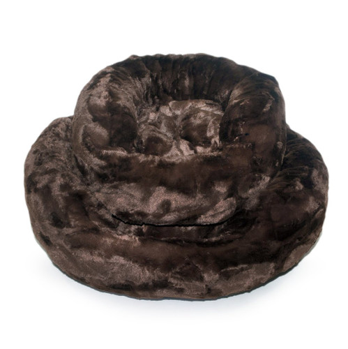 Amour Dog Bed | Chocolate