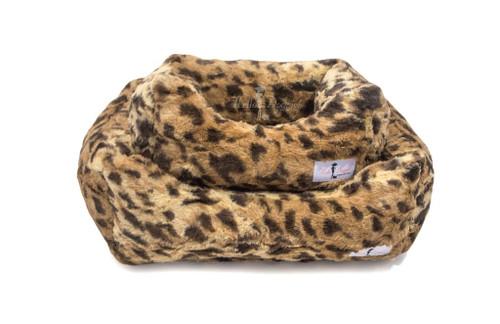 Lux Dog Bed | King Leopard