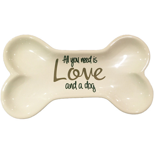 Tid Bit Dish | All You Need is Love & A Dog