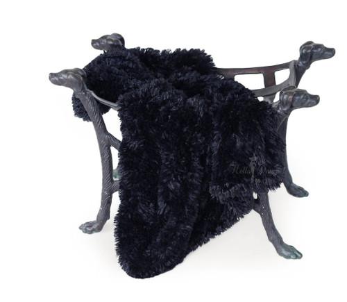 Shag Blanket | Black