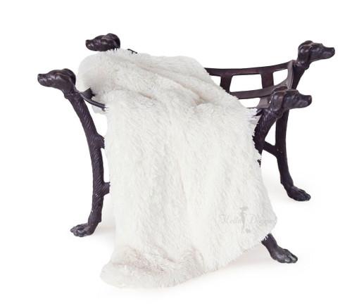 Shag Blanket | Cream
