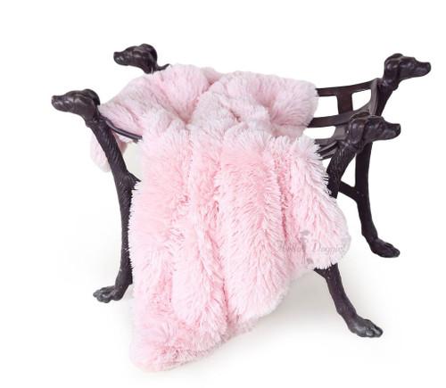 Shag Blanket | Pink