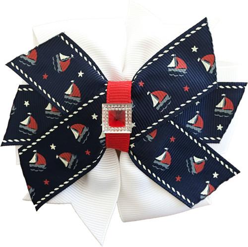 Pinwheel Collar Bud | Harbor