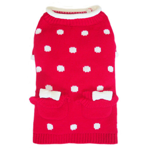 Red Lala Dog Sweater