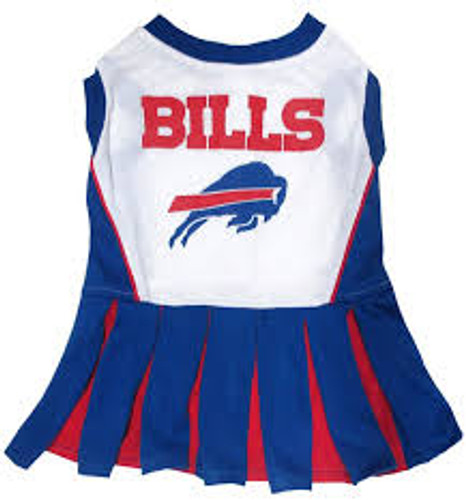 Buffalo Bills Dog Cheerleader Dress