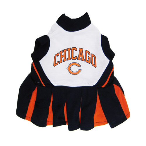 Chicago Bears Dog Cheerleader Dress