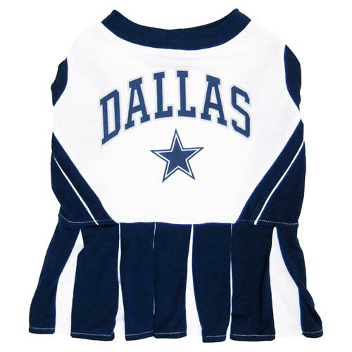 Dallas Cowboys Dog Cheerleader Dress