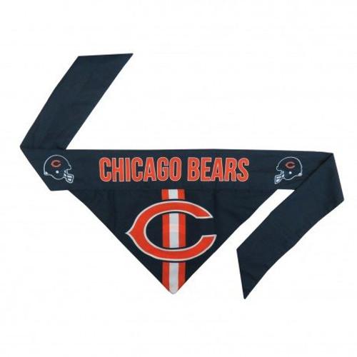 Chicago Bears Tie-On Dog Bandana