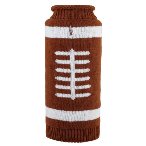 Touchdown Roll Neck Dog Sweater