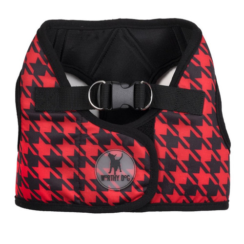 Sidekick Harness | Red Houndstooth