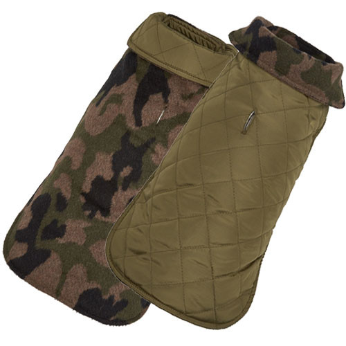 Diamond Quilted Reversible   Camo