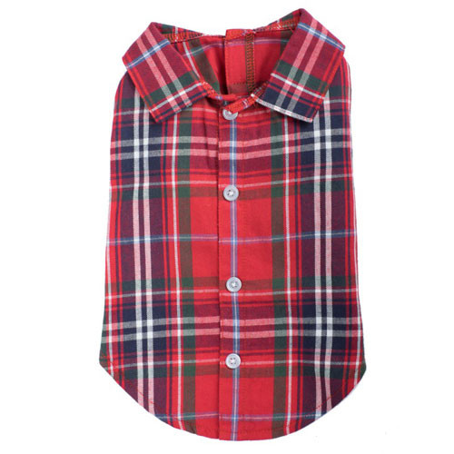 Plaid Shirt | Red