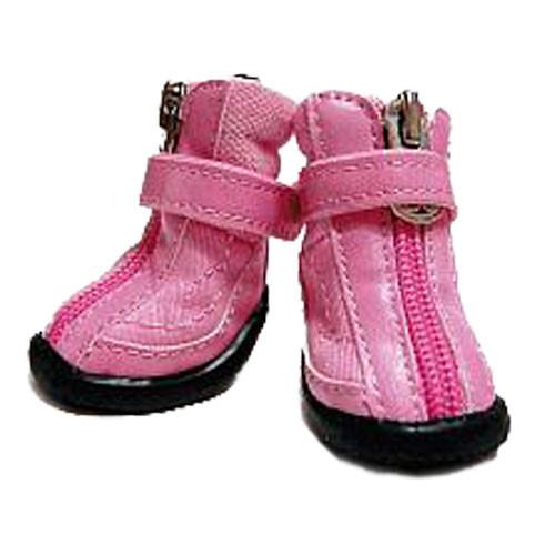 Hiker Dog Boots   Pink