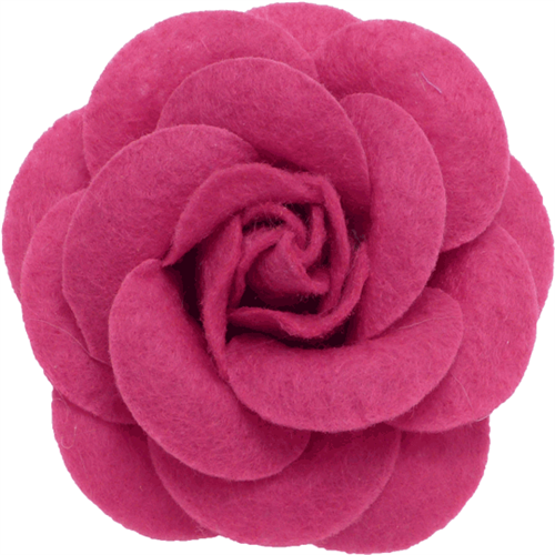 Blush Felt Collar Bud