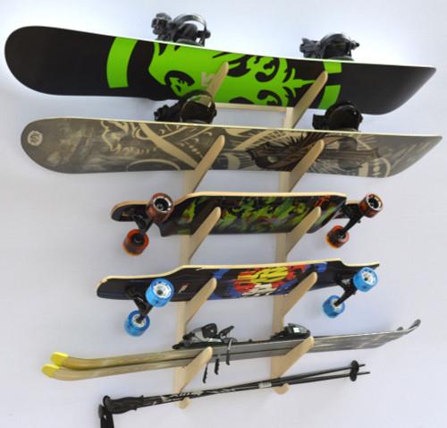 Rado Racks Baltic Ski Amp Snowboard Storage Rack
