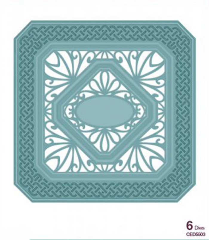 Sue Wilson - The Noble Collection - Classic Adorned Squares Dies CED5503 - 15% Off