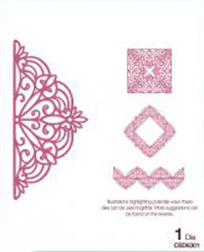 Sue Wilson - Configurations Collection - Petite Arched Adornment Die CED6301 - 15% Off