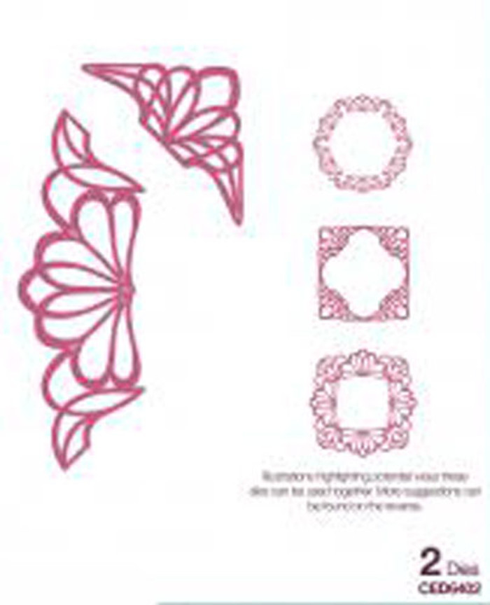 Sue Wilson - Configurations Dainty Lace Edger Die CED6402 - 15% Off