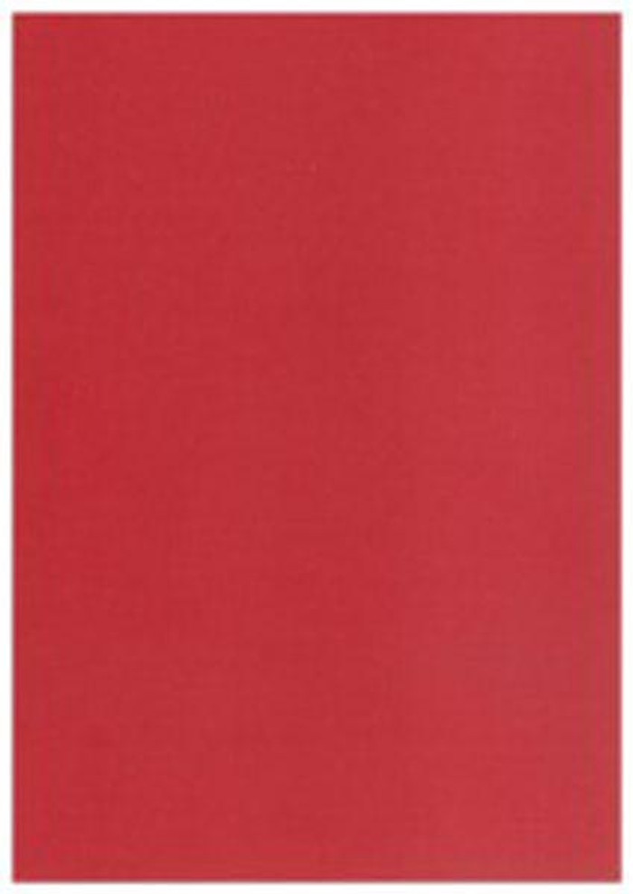"Card Pack 5"" x 7"" Matte Texture 20 Sheets 270gsm - RUBY"