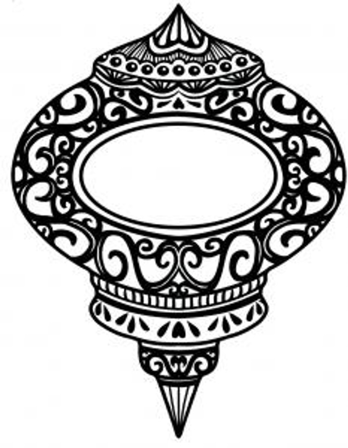 Sue Wilson Stamps To Die For -ORNATE BAUBLE UMS518 - 10% Off FREE POSTAGE Pre-Order