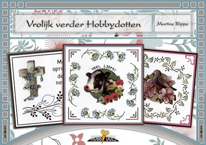 Hobbydols141 Hobbydots Booklet - Vrolijk verder Hobbydotten (Cheerful Hobbydots) (Dutch Language)