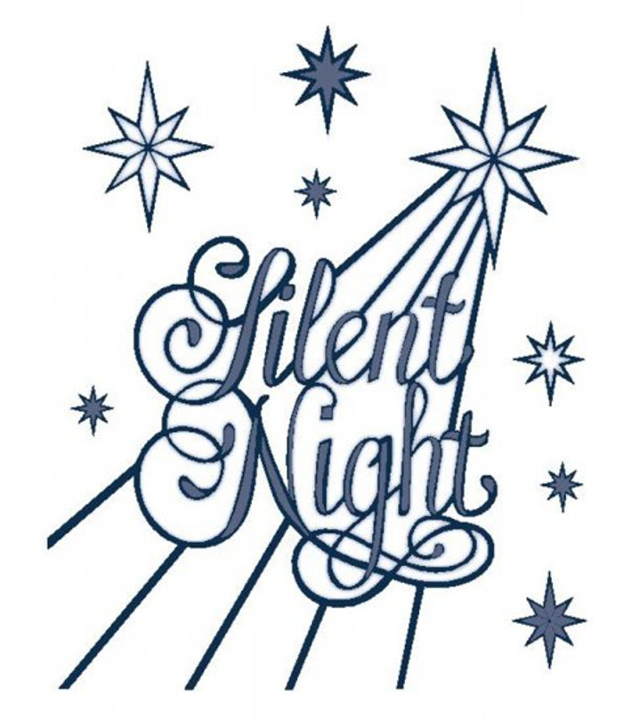 Sue Wilson - The Festive Collection - Silent Night Die CED3032 - Pre-Order 15% Off