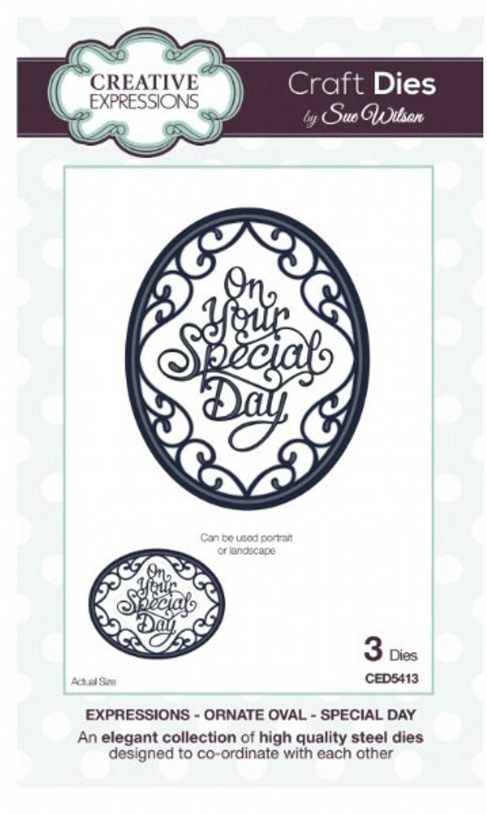 Sue Wilson - Expressions Collection - You Are Special Die CED5413 - 15% Off