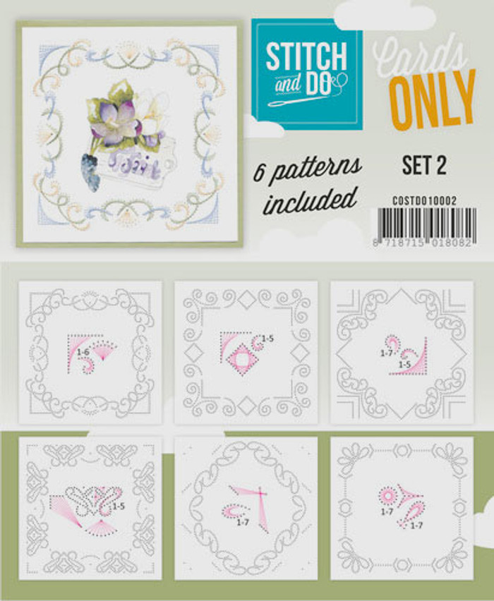 Stitch and Do Card Stitching Cardlayers Only - Set 2