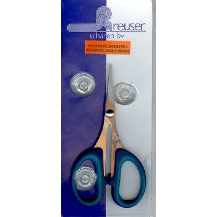 Delta Craft Scissors - Stainless Steel Straigh Tips 110mm