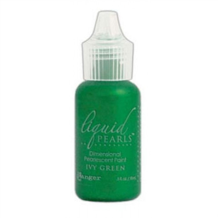 Ranger Liquid Pearls Dimensional Pearlescent Paint - Ivy Green 14.5ml