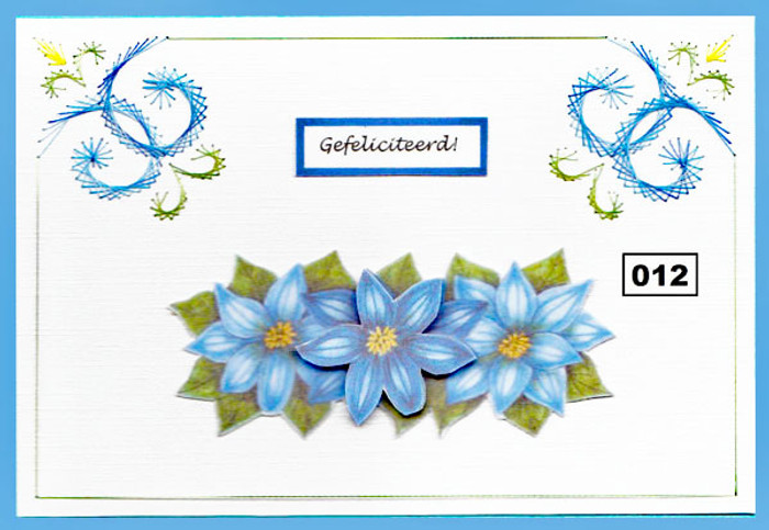 Dalara Creative Card Stitching e-Pattern - DC012e