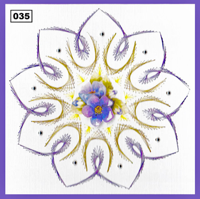 Dalara Creative Card Stitching e-Pattern - DC035e