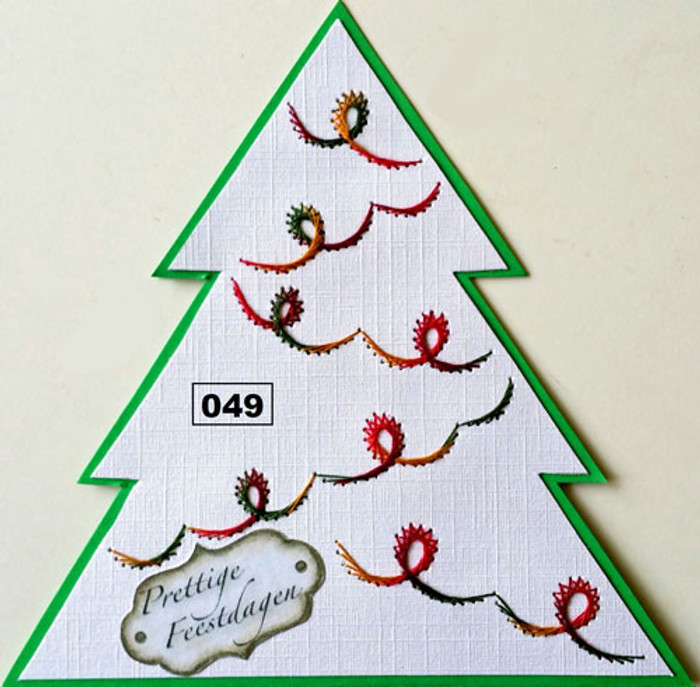 Dalara Creative Card Stitching e-Pattern - DC049e
