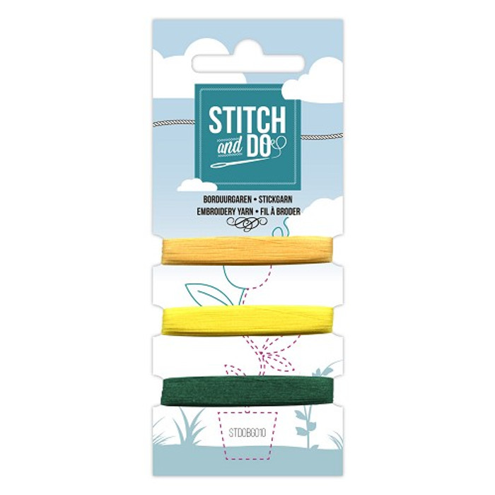 Stitch and Do Card Embroidery Thread Set 010 - 3 x 50m