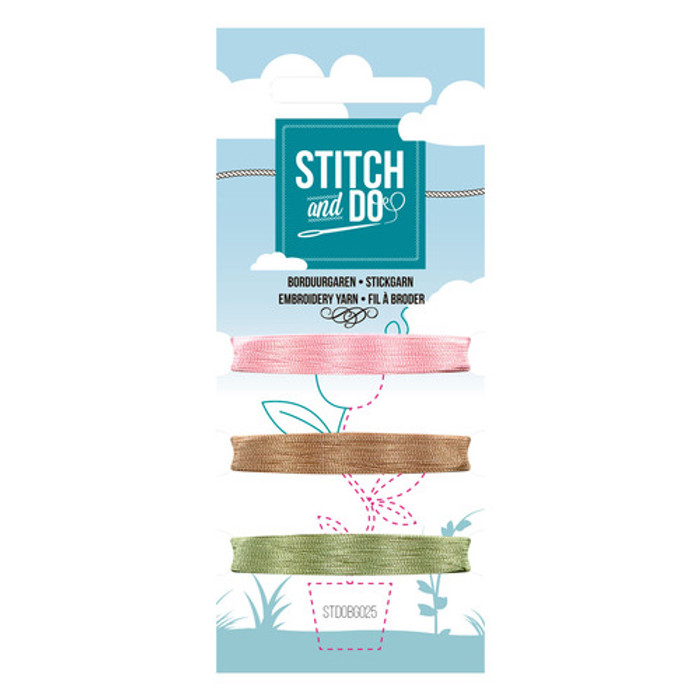 Stitch and Do Card Embroidery Thread Set 25 - 3 x 50m
