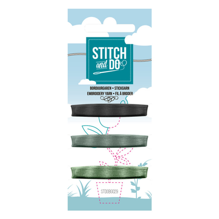 Stitch and Do Card Embroidery Thread Set 29 - 3 x 50m