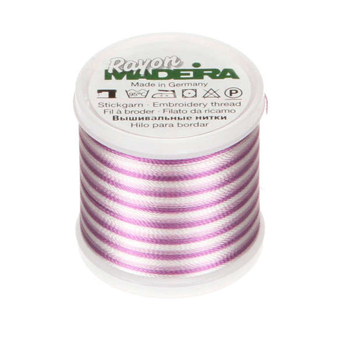 Madeira Rayon Embroidery Thread 40wt 200m - Orchid Ombre