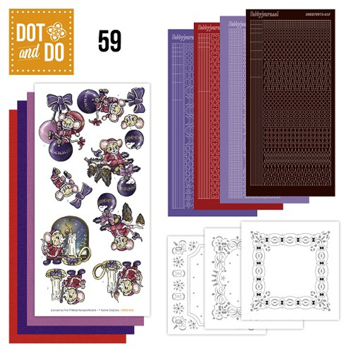 Dot and Do Kit #59 - Christmas Mice