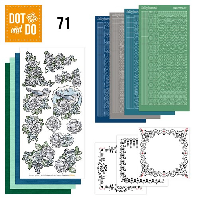 Dot and Do Kit #71 - Flowers