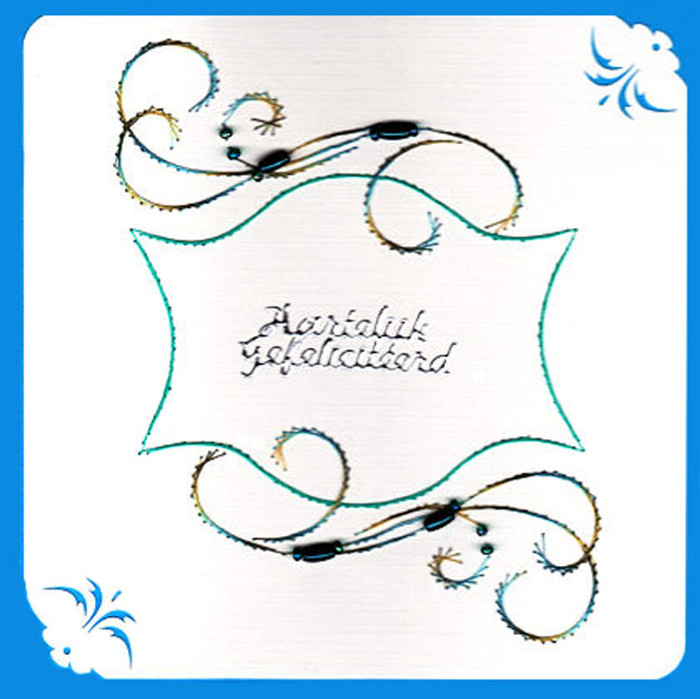 Emelie's Design Card Stitching e-Pattern - ED162e