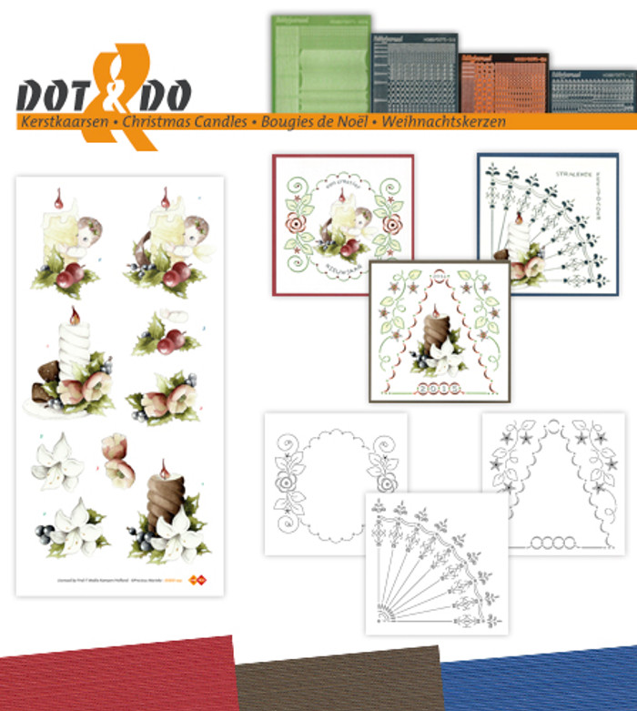 Dot and Do Kit #35 - Christmas Candles