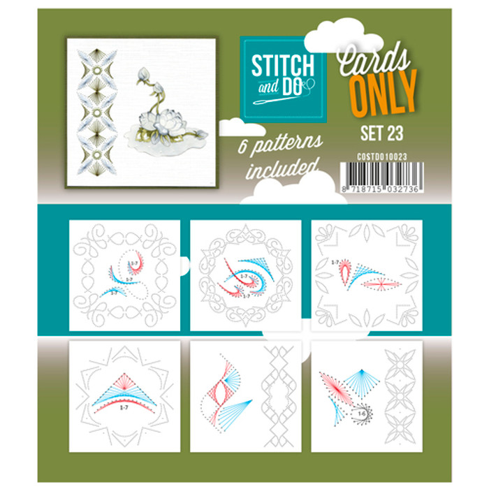 Stitch and Do Card Stitching Cardlayers Only - Set 23