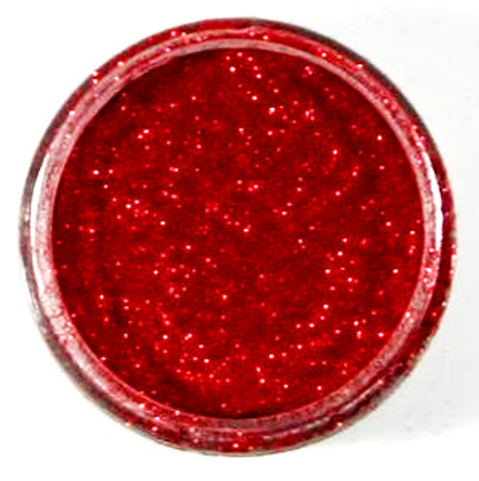 Cosmic Shimmer Polished Silk Glitter - FIRE RED