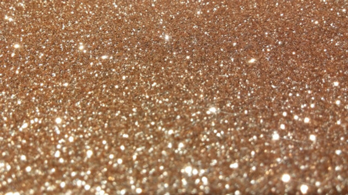 Glitter Paper  A4 (210 x 297mm) Approx. 280gsm - ROSE GOLD 4 Pk